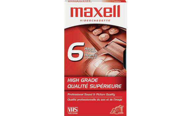 Maxell HG T-120 High-Grade VHS Tape T-120 tape