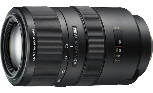Sony SAL-70300G 70-300mm f/4.5-5.6 Lens Front
