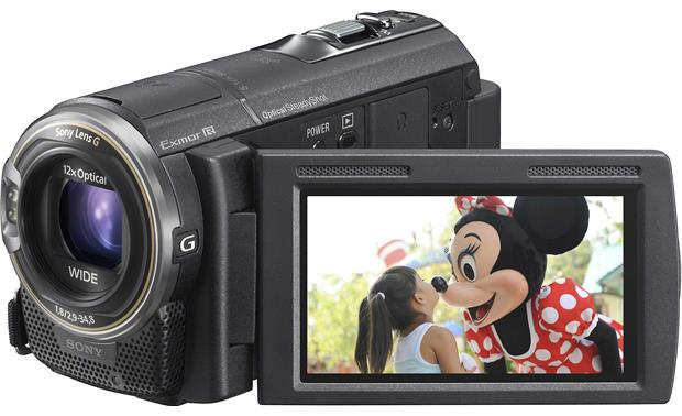 Sony Handycam® HDR-CX580V Front