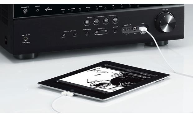 Yamaha AVENTAGE RX-A3020 Connects to iPad® (not included)