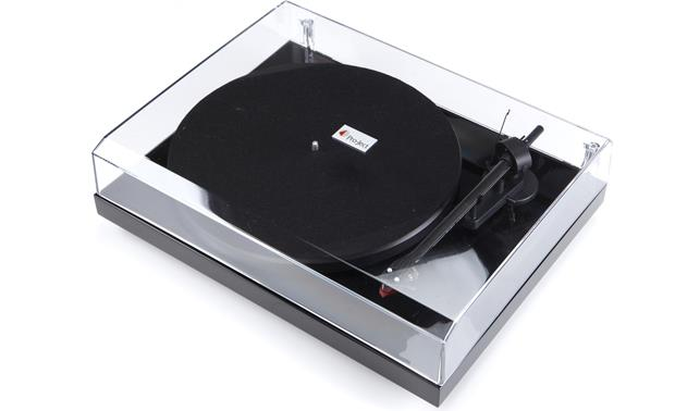 Klipsch R-15PM/Pro-Ject Debut Carbon Gloss Black with included dust cover