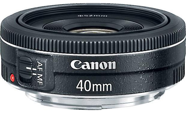 Canon EF 40mm f/2.8 STM Front