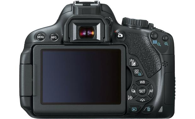 Canon EOS Rebel T4i Kit with 18-55mm Lens Back