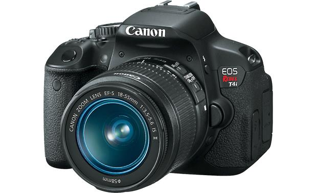 Canon EOS Rebel T4i Kit with 18-55mm Lens Front