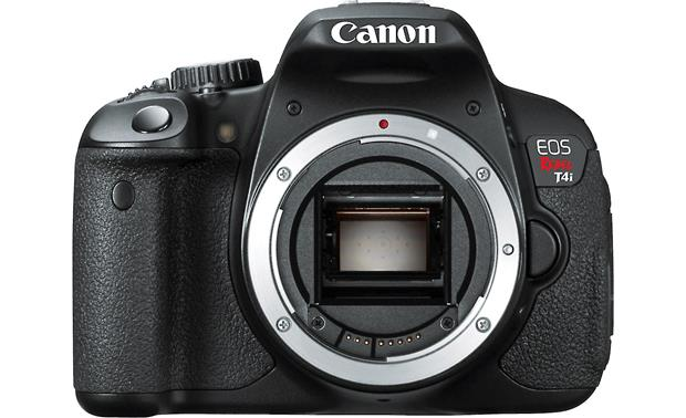 Canon EOS Rebel T4i Kit with 18-55mm Lens Front, straight-on (Body only)