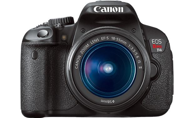 Canon EOS Rebel T4i Kit with 18-55mm Lens Front, straight-on