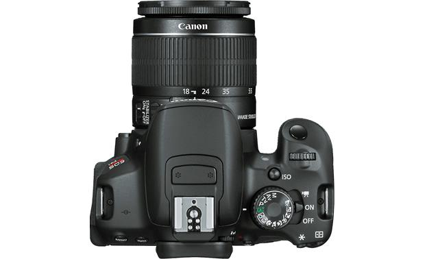 Canon EOS Rebel T4i Kit with 18-55mm Lens Top view
