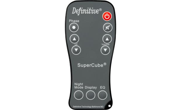 Definitive Technology SuperCube 8000 Remote