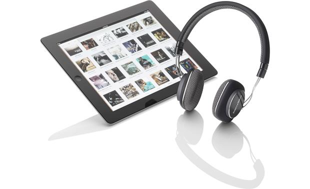 Bowers & Wilkins P3 Shown with iPad� (not included)
