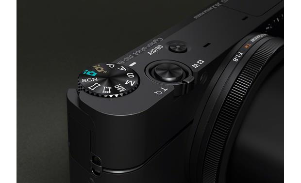 Sony Cyber-shot® DSC-RX100 Control dial and shutter
