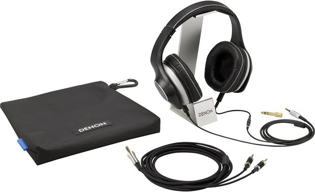 Denon AH-D600 Music Maniac™ Includes carrying case, two detachable cables and adapter (stand not included)