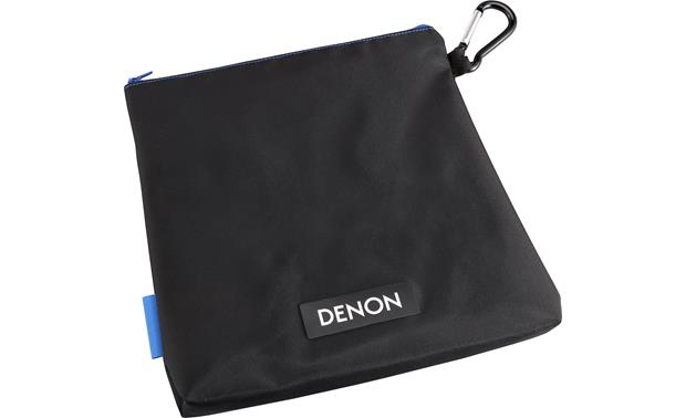 Denon AH-D400 Urban Raver™ Carrying case with removable carabiner