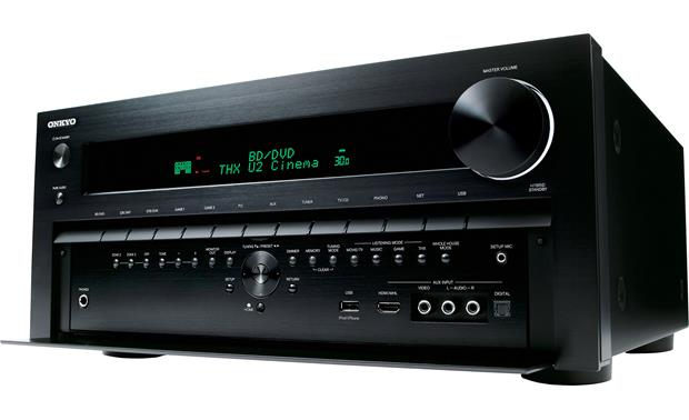 Onkyo TX-NR1010 Facing left (panel open)