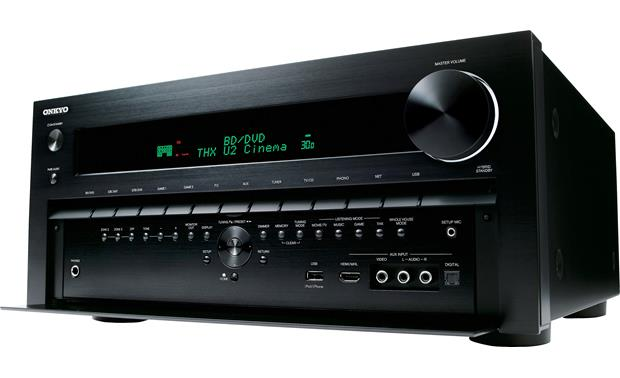Onkyo TX-NR3010 Facing left (panel open)