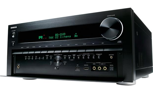 Onkyo TX-NR5010 Facing left (panel open)