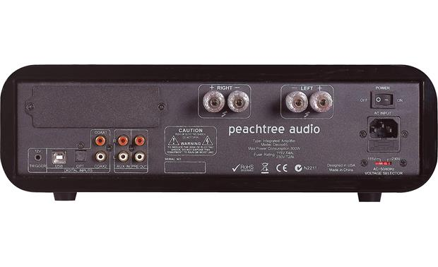 Peachtree Audio decco65 Back (Shown in Gloss Black)