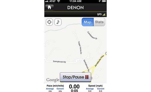 Denon AH-W150 Exercise Freak™ (Yellow) Bluetooth® sports