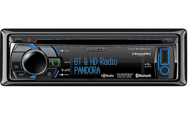 Kenwood KDC-BT852HD Front