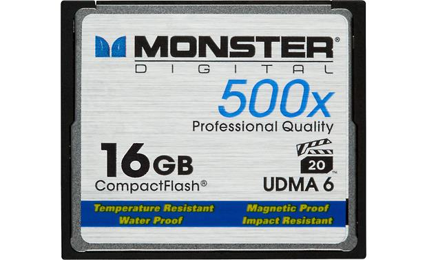 Monster Digital Compact Flash Memory Card Front
