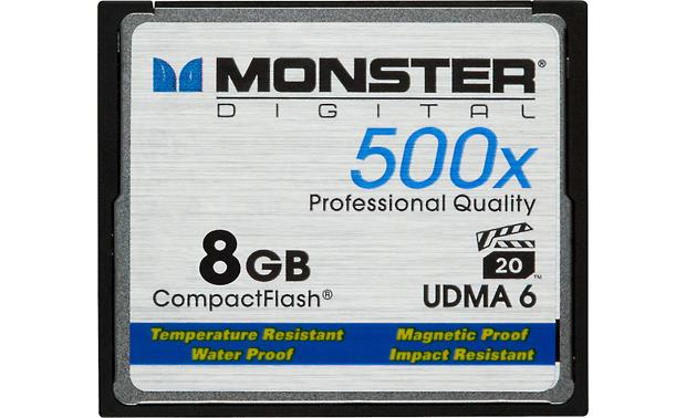 Monster Digital CompactFlash Memory Card Front