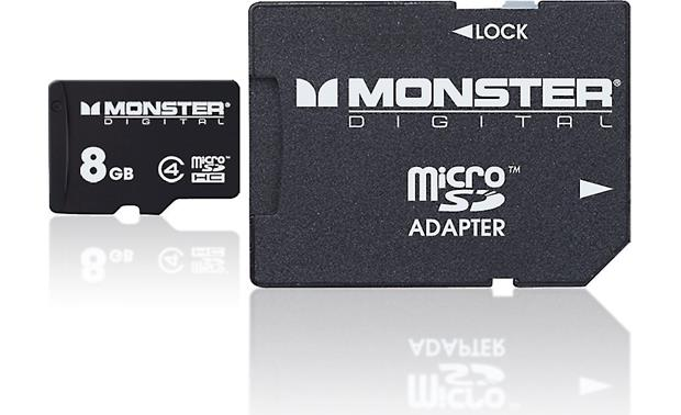 Monster Digital microSDHC  Memory Card Front