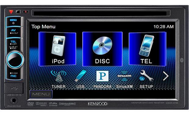 kenwood ddx419 dvd receiver at. Black Bedroom Furniture Sets. Home Design Ideas