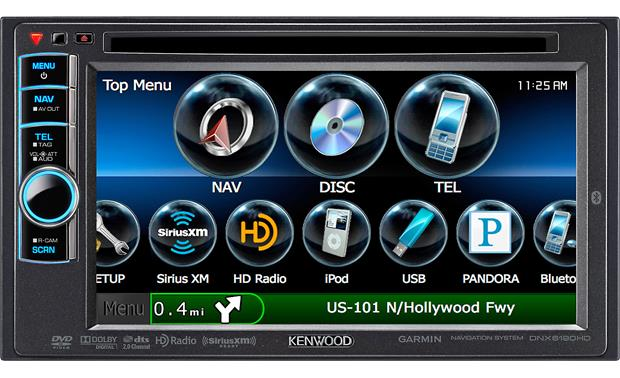 Kenwood DNX6190HD Front