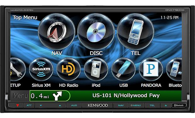 Kenwood DNX7190HD Front