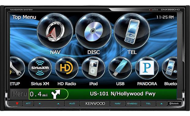 Kenwood Excelon DNX9990HD Front