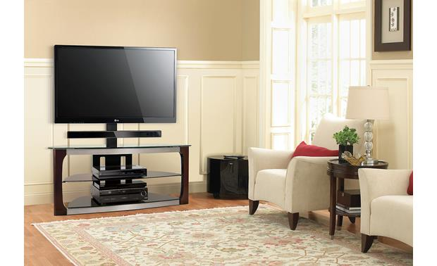 Bell'O TPC-2133 Triple Play® Shown with optional 7901B soundbar mount (TV and components not included)