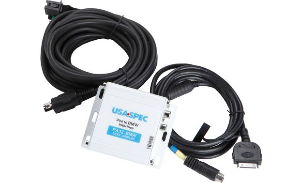 USA Spec iPod® Interface for BMW Front