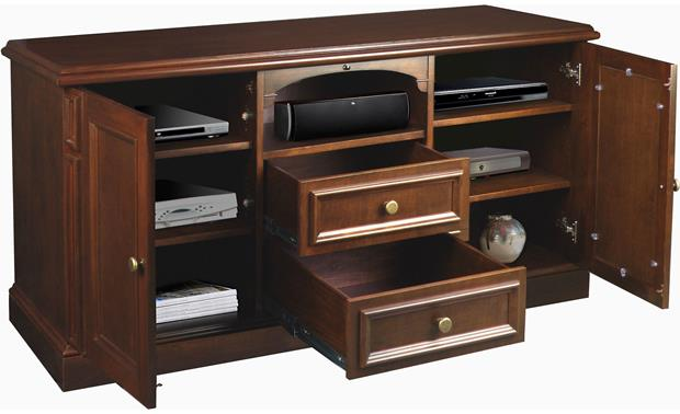 American Quality Furniture Piedmont Cabinet Components and accessories not included
