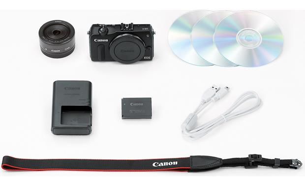 Canon EOS M Supplied accessories