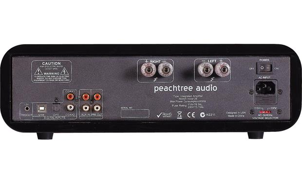 Peachtree Audio nova125 Back (shown in gloss black)