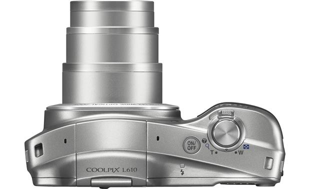 Nikon Coolpix L610 Top view