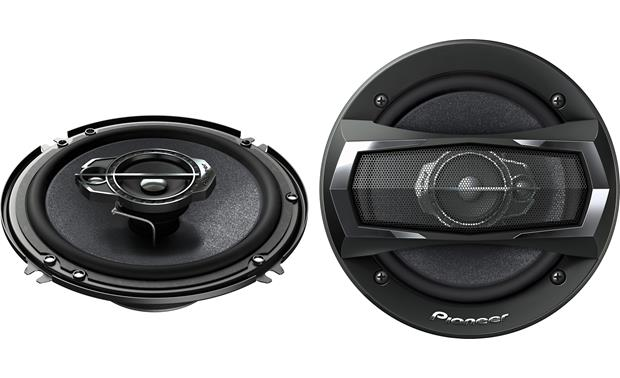 pioneer ts a1675r 6 1 2 3 way car speakers also fits many 6 3 4 openings at. Black Bedroom Furniture Sets. Home Design Ideas