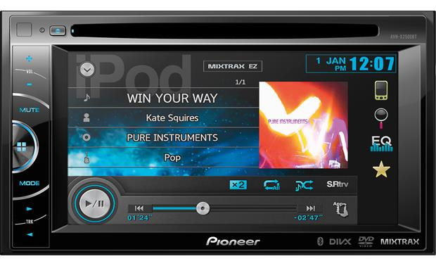 pioneer avh x2500bt dvd receiver at crutchfield com rh crutchfield com