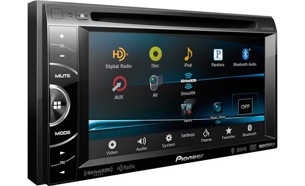 Pioneer AVH-X3500BHS Other