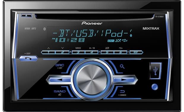 g130X700BT F pioneer fh x700bt cd receiver at crutchfield com  at cos-gaming.co