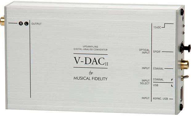Musical Fidelity V-DAC II Front