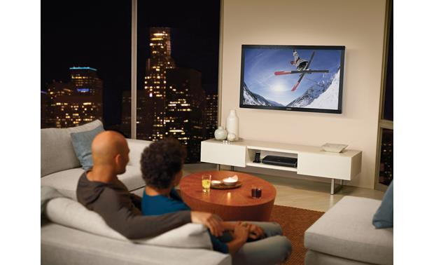 Bose® VideoWave® II entertainment system Clear sound without the clutter
