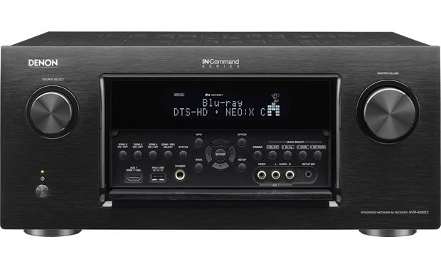Denon AVR-4520CI Front-panel inputs for your HD video or portable music player