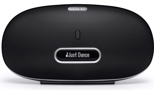 Denon DSD-300 Cocoon Portable Front, with dock retracted