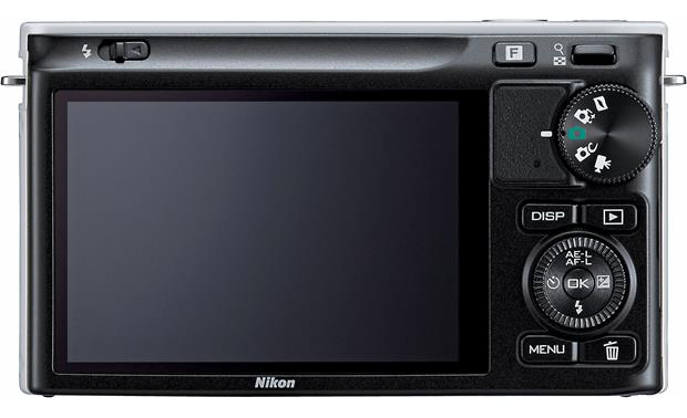 Nikon 1 J2 with 10-30mm VR Lens Back