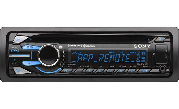 sony mex bt4100p cd receiver at crutchfield com sony mex bt4100p front