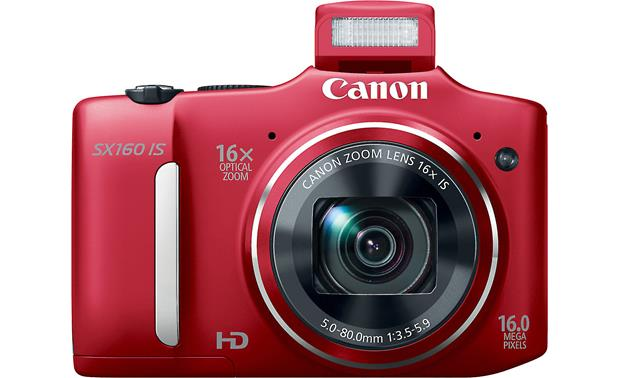 Canon PowerShot SX160 IS With pop-up flash