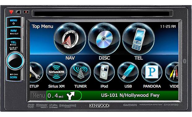 Kenwood DNX5190 Front