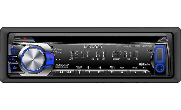 Kenwood KDC-HD552U Front