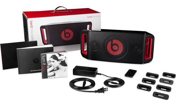 Beats by Dr. Dre™ Beatbox Portable™ Black - Beatbox Portable with included accessories