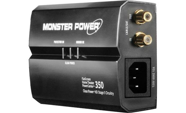 Monster Power® HTS 350 Connections on right end